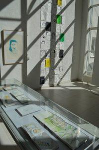 Gaby Krein exhibition EKA Abschlussausstellung