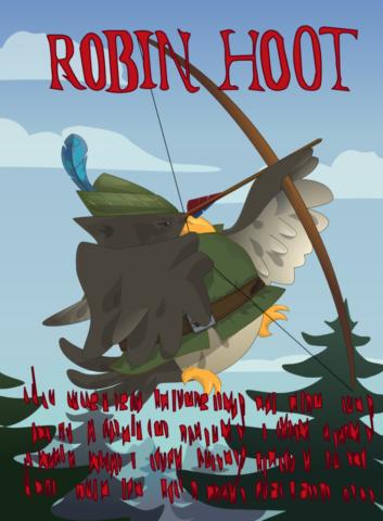 Robin Hood as a Magpie